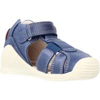 Buty Chłopiec Sandały Biomecanics 212134 Niebieski