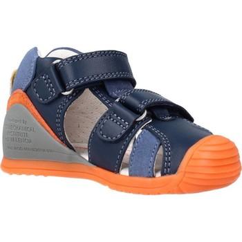 Buty Chłopiec Sandały Biomecanics 212143 Niebieski