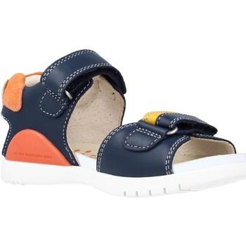 Buty Chłopiec Sandały Biomecanics 212190 Niebieski