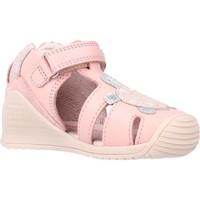 Buty Dziewczynka Sandały Biomecanics 212109 Rose