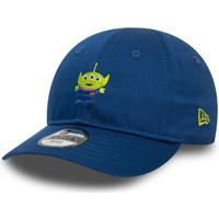 Dodatki Dziecko Czapki z daszkiem New-Era Inf dny sml logo 9forty alien Niebieski