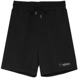 tekstylia Męskie Szorty i Bermudy Sixth June Short  Mesh Logo noir