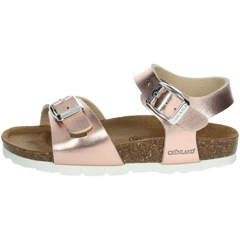 Buty Dziewczynka Sandały Grunland SB0646-40 pudrowyróżowy