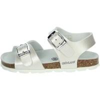Buty Dziewczynka Sandały Grunland SB0392-40 perłowy