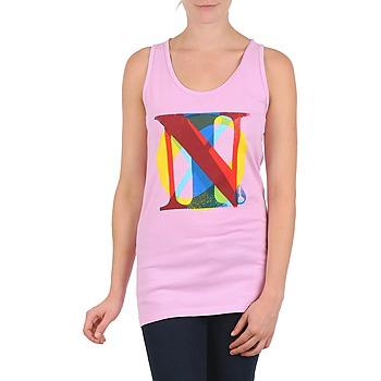 tekstylia Damskie Topy na ramiączkach / T-shirty bez rękawów Nixon PACIFIC TANK Różowy / Wielokolorowe