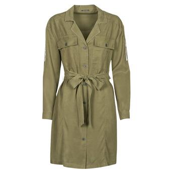 tekstylia Damskie Sukienki krótkie Ikks BS30055 Kaki