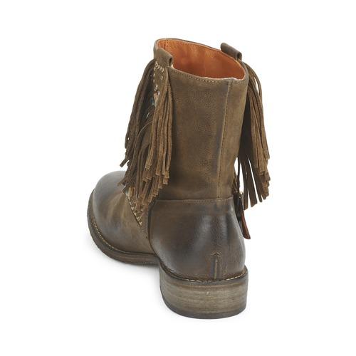 GRINO  Strategia  buty za kostkę  damskie  kaki