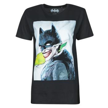 tekstylia Damskie T-shirty z krótkim rękawem Yurban OSTERR Czarny