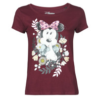 tekstylia Damskie T-shirty z krótkim rękawem Yurban OHJAVE Bordeaux
