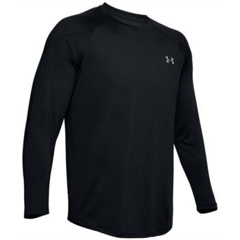 tekstylia Męskie T-shirty z długim rękawem Under Armour Recover Longsleeve Czarny
