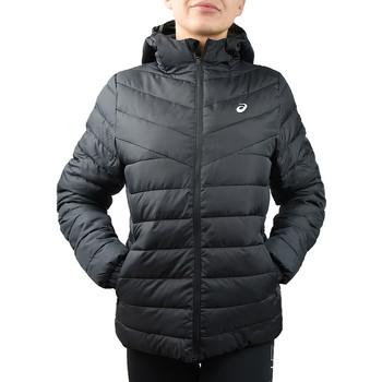 tekstylia Damskie Kurtki pikowane Asics W Padded Jacket noir