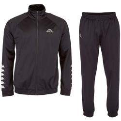 tekstylia Męskie Zestawy dresowe Kappa Till Training Suit Czarny