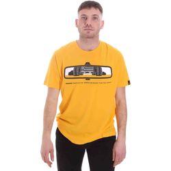 tekstylia Męskie T-shirty z krótkim rękawem Caterpillar 35CC2510234 Żółty