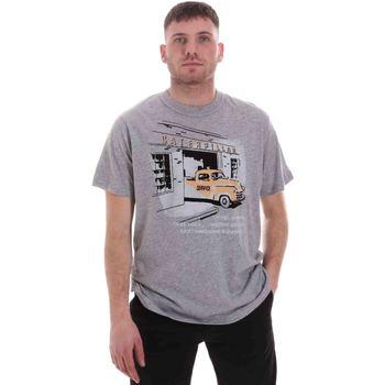 tekstylia Męskie T-shirty z krótkim rękawem Caterpillar 35CC2510217 Szary