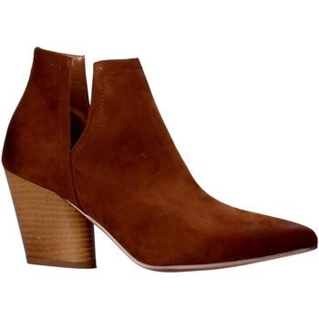 Buty Damskie Buty za kostkę Grace Shoes 7241004 Brązowy