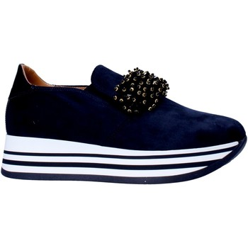 Buty Damskie Tenisówki Grace Shoes MAR015 Niebieski
