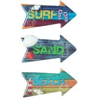 Dom Obrazy Signes Grimalt Magnetyczny Surf 3 Dif. Multicolor