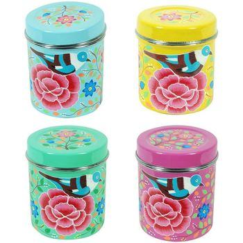 Dom Kufry, skrzynki Signes Grimalt Tea Box 4 Września Jednostki Multicolor