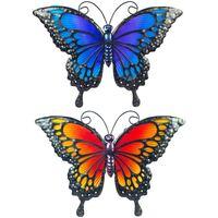 Dom Oświetlenie zewnętrzne  Signes Grimalt Motyl We Wrześniu 2U Multicolor