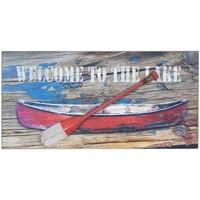 Dom Obrazy Signes Grimalt Płyta Ścienna Barca Remo Multicolor
