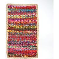 Dom Dywany Signes Grimalt Wielu Z Juty Dywan Multicolor