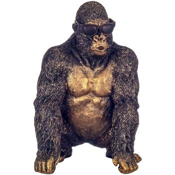 Dom Statuetki i figurki  Signes Grimalt Orangutan Posiedzenia W Okularach Dorado