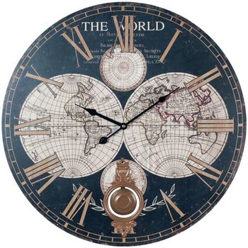 Dom Zegary Signes Grimalt Światowy Zegar Ścienny Multicolor