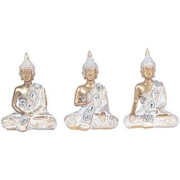 Dom Statuetki i figurki  Signes Grimalt 3 Różne Buddów We Wrześniu 3U Blanco