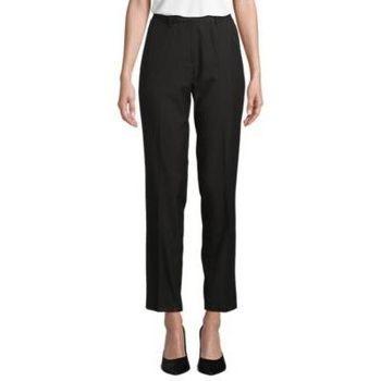 tekstylia Damskie Spodnie od garnituru  Sols GABIN WOME Negro profundo