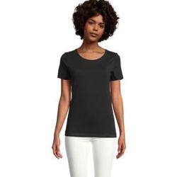 tekstylia Damskie T-shirty z krótkim rękawem Sols LUCAS WOME Negro profundo