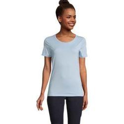 tekstylia Damskie T-shirty z krótkim rękawem Sols LUCAS WOME Azul claro