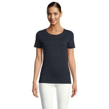 tekstylia Damskie T-shirty z krótkim rękawem Sols LUCAS WOME Negro noche
