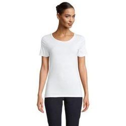 tekstylia Damskie T-shirty z krótkim rękawem Sols LUCAS WOME Blanco ?ptimo