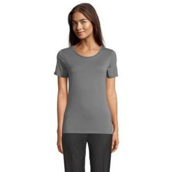 tekstylia Damskie T-shirty z krótkim rękawem Sols LUCAS WOME Gris claro