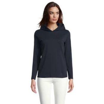 tekstylia Damskie T-shirty z długim rękawem Sols LOUIS WOME Negro noche