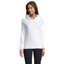tekstylia Damskie T-shirty z długim rękawem Sols LOUIS WOME Blanco ?ptimo