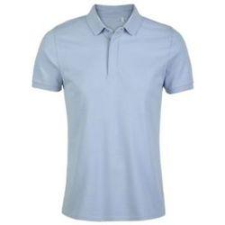 tekstylia Męskie Koszulki polo z krótkim rękawem Sols OWEN MEN Azul claro