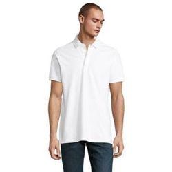 tekstylia Męskie Koszulki polo z krótkim rękawem Sols OWEN MEN Blanco ?ptimo