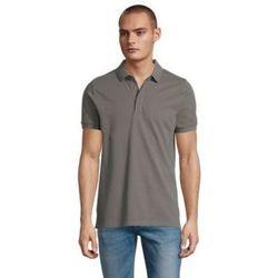 tekstylia Męskie Koszulki polo z krótkim rękawem Sols OWEN MEN Gris claro