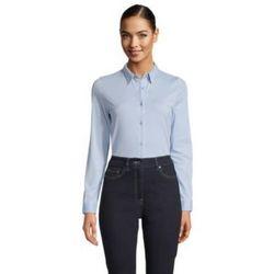 tekstylia Damskie Koszule Sols BALTHAZAR WOME Azul claro
