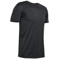 tekstylia Męskie T-shirty z krótkim rękawem Under Armour Rush Seamless Fitted SS Tee Czarny