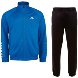 tekstylia Męskie Zestawy dresowe Kappa Till Training Suit Niebieski