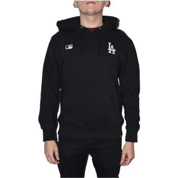 tekstylia Męskie Bluzy 47 Brand MLB Los Angeles Dodgers Hoodie Czarny