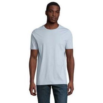 tekstylia Męskie T-shirty z krótkim rękawem Sols LUCAS MEN Azul claro