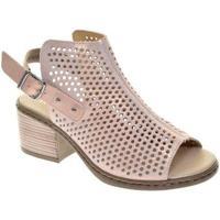 Buty Damskie Sandały Rieker Różowe Sandały Pink