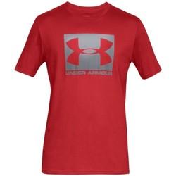tekstylia Męskie T-shirty z krótkim rękawem Under Armour Boxed Sportstyle SS Tee Czerwony