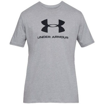 tekstylia Męskie T-shirty z krótkim rękawem Under Armour Sportstyle Logo Tee Szary