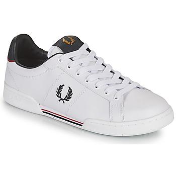 Buty Męskie Trampki niskie Fred Perry B722 Biały
