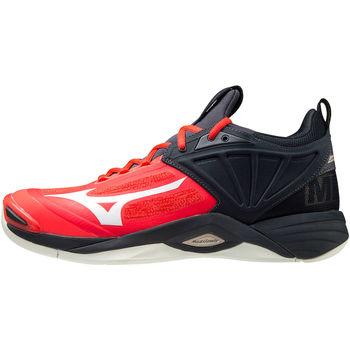 Buty Męskie Multisport Mizuno Chaussures  Wave Momentum 2 rouge/blanc/noir