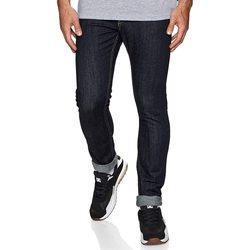 tekstylia Męskie Jeansy slim fit DC Shoes Worker Indigo Rinse Slim Fit Jeans Niebieski